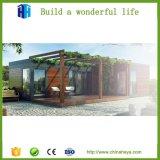 [برفب] رفاهية حديثة فولاذ وعاء صندوق منزل مع 2 غرفة نوم