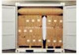 Luchtkussen Met hoge weerstand van het Stuwmateriaal van het Document van kraftpapier het Opblaasbare voor Vervoer