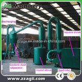 Secador quente do fluxo de ar da eficiência elevada para a serragem da madeira da biomassa