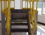 Escada de etapa material da fibra de vidro de /Building do corrimão de FRP