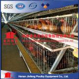 Cage galvanisée électrique de poulet d'oeufs, cages de couche