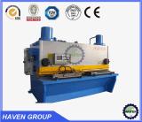 Máquina de corte da guilhotina QC11Y-16X4000 hidráulica, máquina de estaca da placa de aço