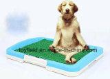Новая собака туалет переносной пластиковый горшок лоток Пэт туалет