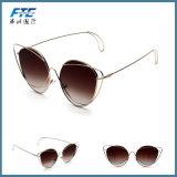 Retro annata Eyewear esterno rotondo di vetro degli occhiali da sole del blocco per grafici del metallo