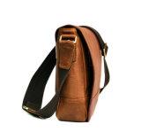 싼 가격 남자를 위한 Retro 작풍 스포츠 가죽 어깨에 매는 가방 메신저 부대