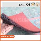 Económico pisos de goma antideslizante de caucho Solución Mat Zona Weght golpes y la caída de altura proteger