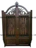 高品質によってカスタマイズされる錬鉄のアルミニウム家または庭ゲート