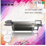Protection Eco-Environnementale diversifiée par type UV extérieur fait sur commande d'imprimante de plaque de machine d'impression de couleur de mur de fond de pleine Chambre grand