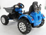 Elektrische Fahrt auf Technik-Auto mit zwei Motoren