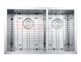 Edelstahl des Zoll-32X17 unter Montierungs-handgemachter Küche-Wanne