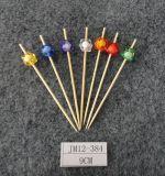 Ecoのバーベキューのツールのタケ焼串か棒を熱販売するか、または選びなさい(BC-BS1035)