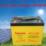 Batterie solaire des batteries AGM de panneaux solaires de batterie au lithium solaire