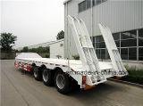 Горячий сбывания 3axles низкий кровати трейлер Semi с 40 тоннами