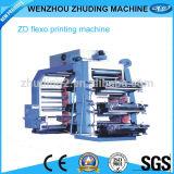 Alta qualità Cheap Price 4colour Flexographic Printing Machine Roll a Roll Nonwoven Fabric