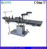 병원 엑스레이 외과 장비 전기 가동중인 극장 테이블