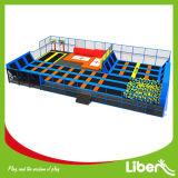 Square Springless saut libre supermarché Toddler Trampoline intérieur lit personnalisé de gymnastique
