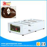 Acier inoxydable 2/3 machine de fonte de réservoir/chocolat de fonte de chocolat de réservoir
