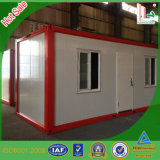 살기를 위한 가벼운 강철 조립식 집 또는 콘테이너 집