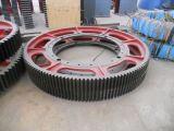 Ring-Gang des Stahlgußteil-45# 2 Stück-Gang-Rad für Kugel-Tausendstel