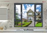 Окно Casement термально пролома алюминиевое с отражательным стеклом