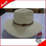Документ всей соломы края Sun соломы женщин Red Hat