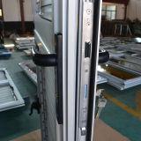 Porte coupe-étoupe profilé en aluminium à rupture thermique, porte battante à volet K06028