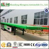 La Chine fabricant charge à plat 40FT conteneur semi-remorque