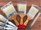 Il chip di vendita superiore della vernice spazzola la maniglia di legno dei filamenti sintetici 10pk