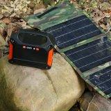 Memoria a energia solare portatile 100W 42000mAh dell'alimentazione elettrica del generatore
