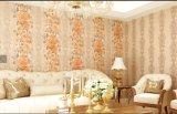 Chambre à coucher en 3D en PVC de papier peint décoratif