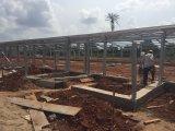 Prefabricados de estructura de acero de bajo costo de construcción