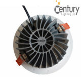 40Wは170mmの排気切替器が付いている白いクリー族の穂軸LEDの天井灯を暖める