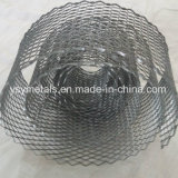 Faixa de Diamante de metal expandido galvanizado malha metálica
