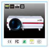720p LED LCD HDMI USB VGAインターフェイスホーム映画館のゲームプロジェクター