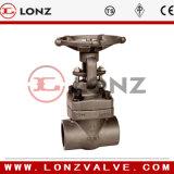 Válvula de porta de aço forjada