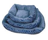 Сплошным цветом Squair собака кровать с комфортом заправка