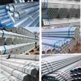 Ms de tubos de acero galvanizado en caliente/ REG Tubo de acero galvanizado de tubo redondo galvanizado//Gi el tubo de gas/Gases de Efecto/Valla Post/construcción y el suministro de agua