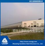 Fachmann konzipierte vorfabrizierte industrielle Stahlkonstruktion für Lager