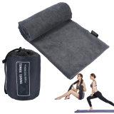 Bain Compact Tapis de Yoga à séchage rapide Serviette de plein air sports Natation