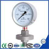 Manometro del manometro della guarnizione del diaframma per la prova di corrosione