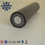 35kv 알루미늄 Conductor/XLPE 절연제 또는 철강선 Armored/PVC 외부 칼집 Mv 고압선