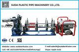 Máquina de soldadura plástica da tubulação do HDPE de Sud250h