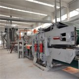 테이블 기중기, 합판 또는 파티클 보드 생산 라인 기계, 합판 작동되는 기계장치