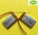 Usine Custom Made Rechargeable Batterie Lipo 350mAh 3,7 V