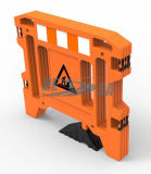 Plastikverkehrssicherheit-Gatter-Arbeits-Sperre mit den Beinen