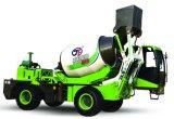 2.6立方体のメートル容量の建築業のための自動具体的なミキサーのトラック