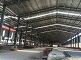 Construction préfabriquée d'atelier de structure métallique d'usine de coût bas