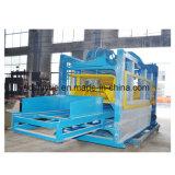 O Qt12-15 Grande fazendo tijolos de cimento Automático de Saída da Linha de Produção