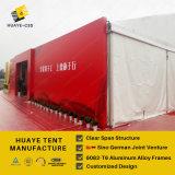 15m Huaye eventos tienda de campaña con revestimiento de PVC (HY094b)