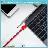 Красный нейлоновой оплеткой USB 3.1 типа C быстрая зарядка кабель передачи данных для Samsung Galaxy примечание 8 S8